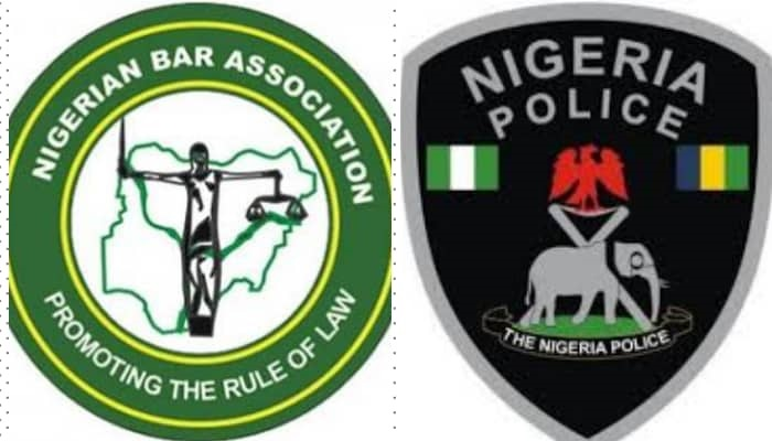 Image result for Nigerian BAR association and the police